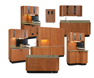 Charmant Woodway Dental Cabinetry